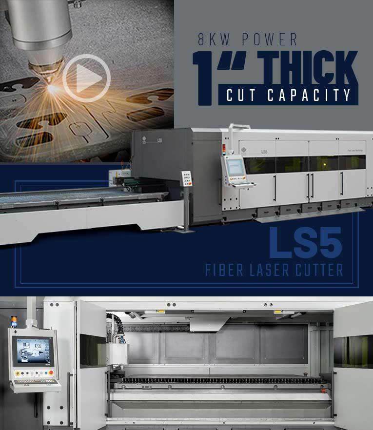 LS5 Fiber Laser Cutter B&J Inc.