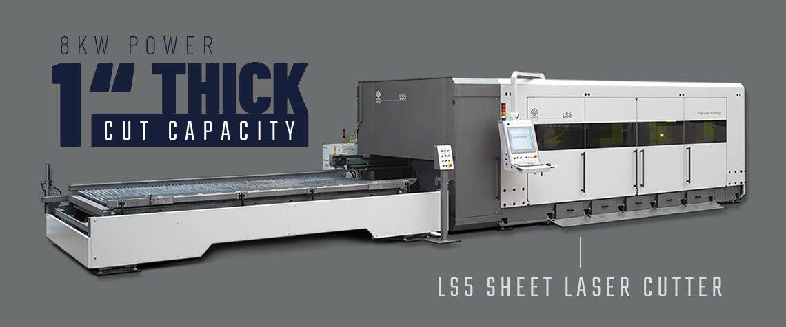 LS5 Flatbed Laser